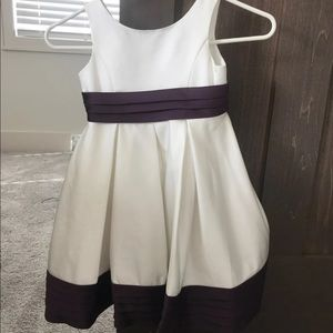 5T wedding flower girl dress